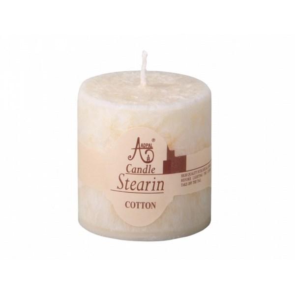 Stearínová sviečka Capri Bavlna, 5 cm