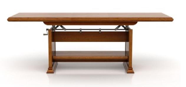 Konferenčný stolík KENT ELAST 130/170   Farba: Gaštan
