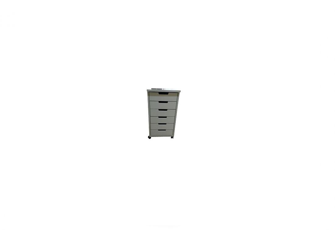 Kontejner ABSOLON, 63x41x37, bílý
