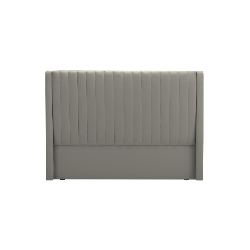 Sivobéžové čelo postele Cosmopolitan design Dallas, 140×120 cm