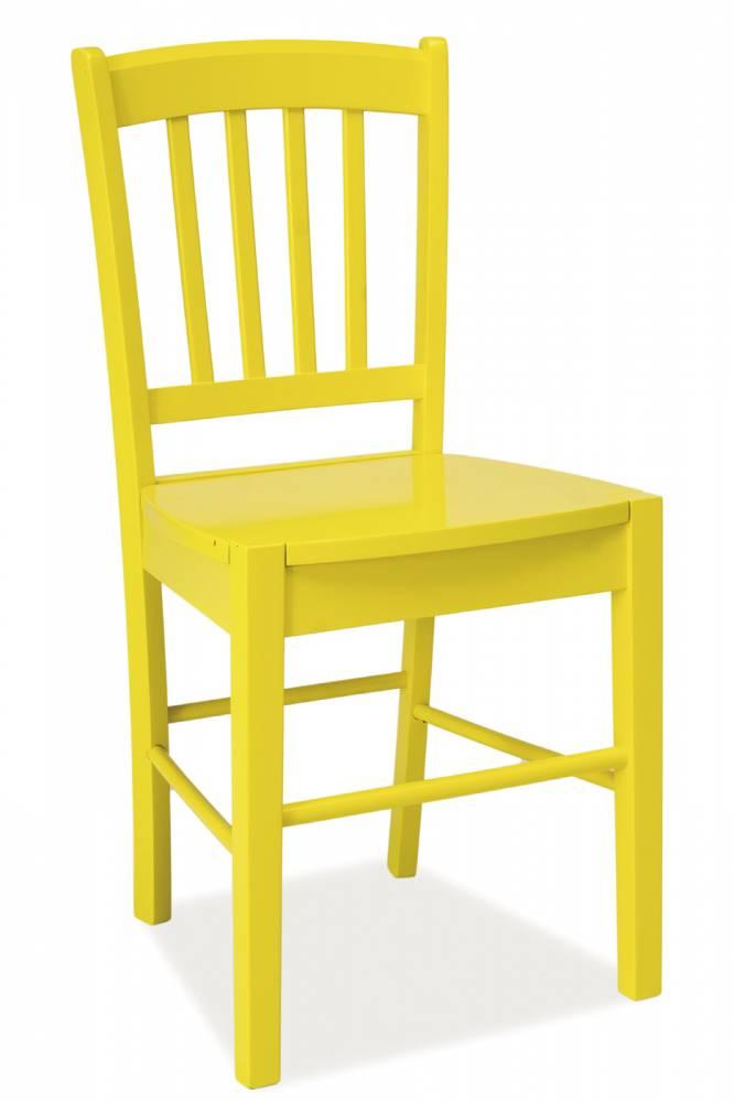 Jedálenská stolička CD-57 (žltá)