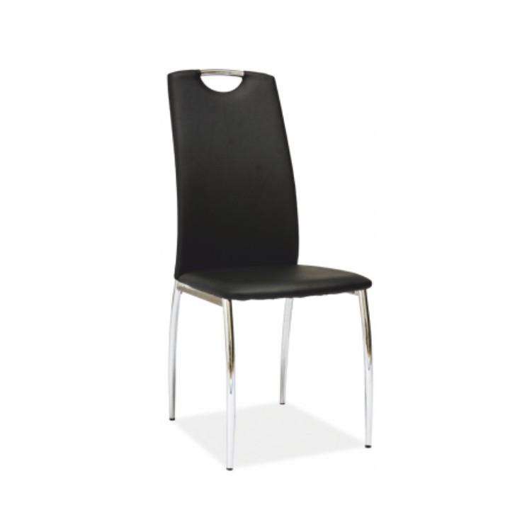 Jedálenská stolička Ervina (čierna)