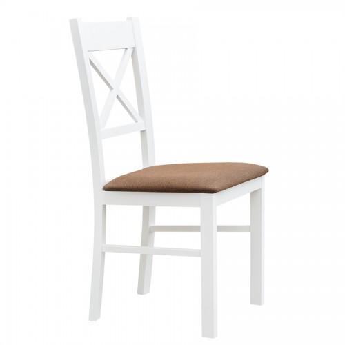 Biely nábytok Stolička Belluno Elegante 22, čalúnenie MINI 529