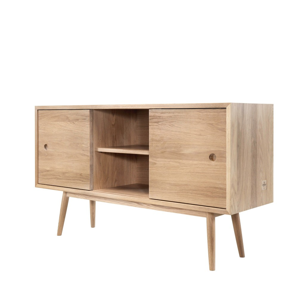 Komoda z dubového dreva Wewood - Portugues Joinery Classic, dĺžka 170 cm
