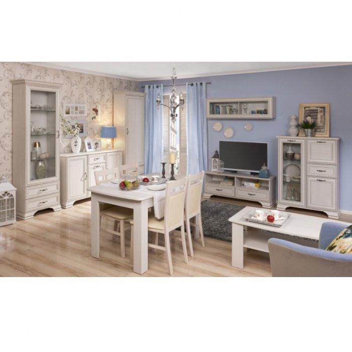 TEMPO KONDELA TIFFY obývacia izba - woodline krém