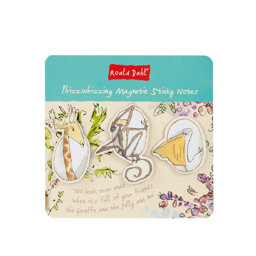 Set notesa na poznámky s 3 magnetmi Roald Dahl by Portico Designs