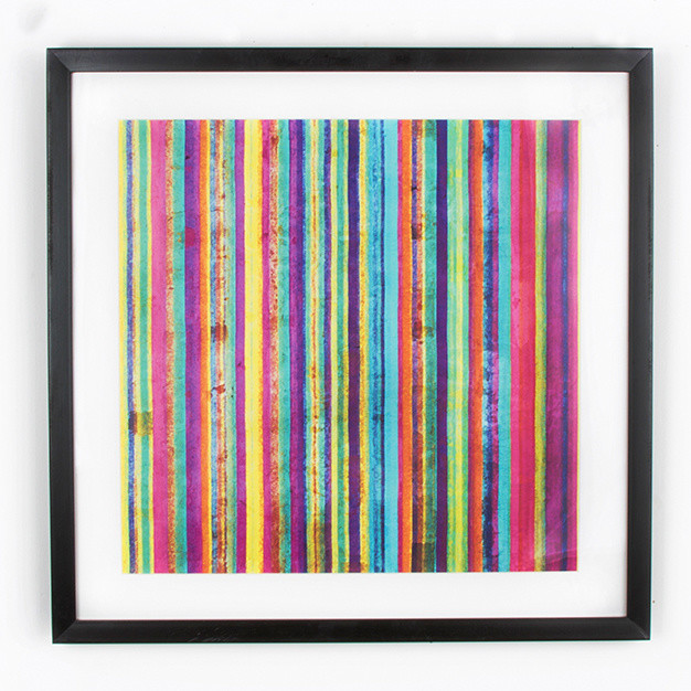 Obraz Graham & Brown Neon Stripe, 50x50cm