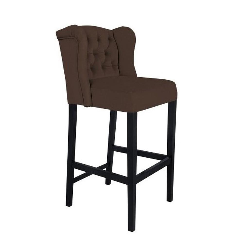 Hnedá barová stolička Mazzini Sofas Roco