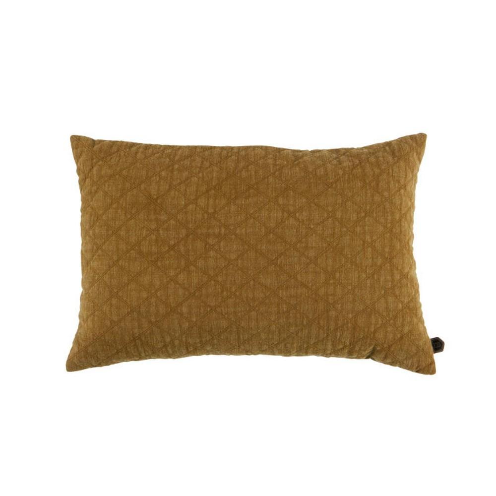 Hnedý bavlnený vankúš De Eekhoorn Guides, 40×60cm