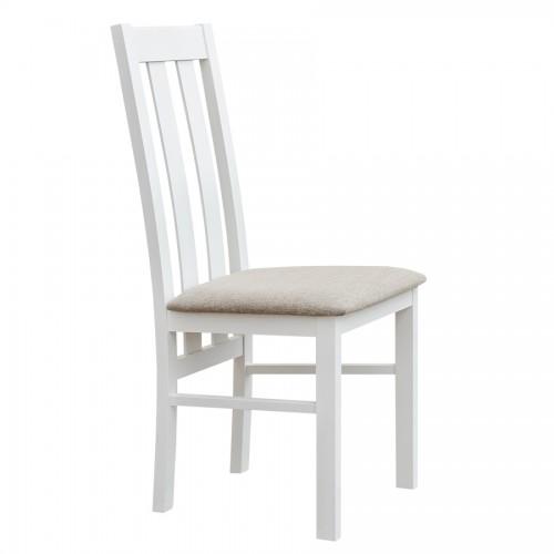 Biely nábytok Stolička Belluno Elegante 10, čalúnenie PORTOS 734