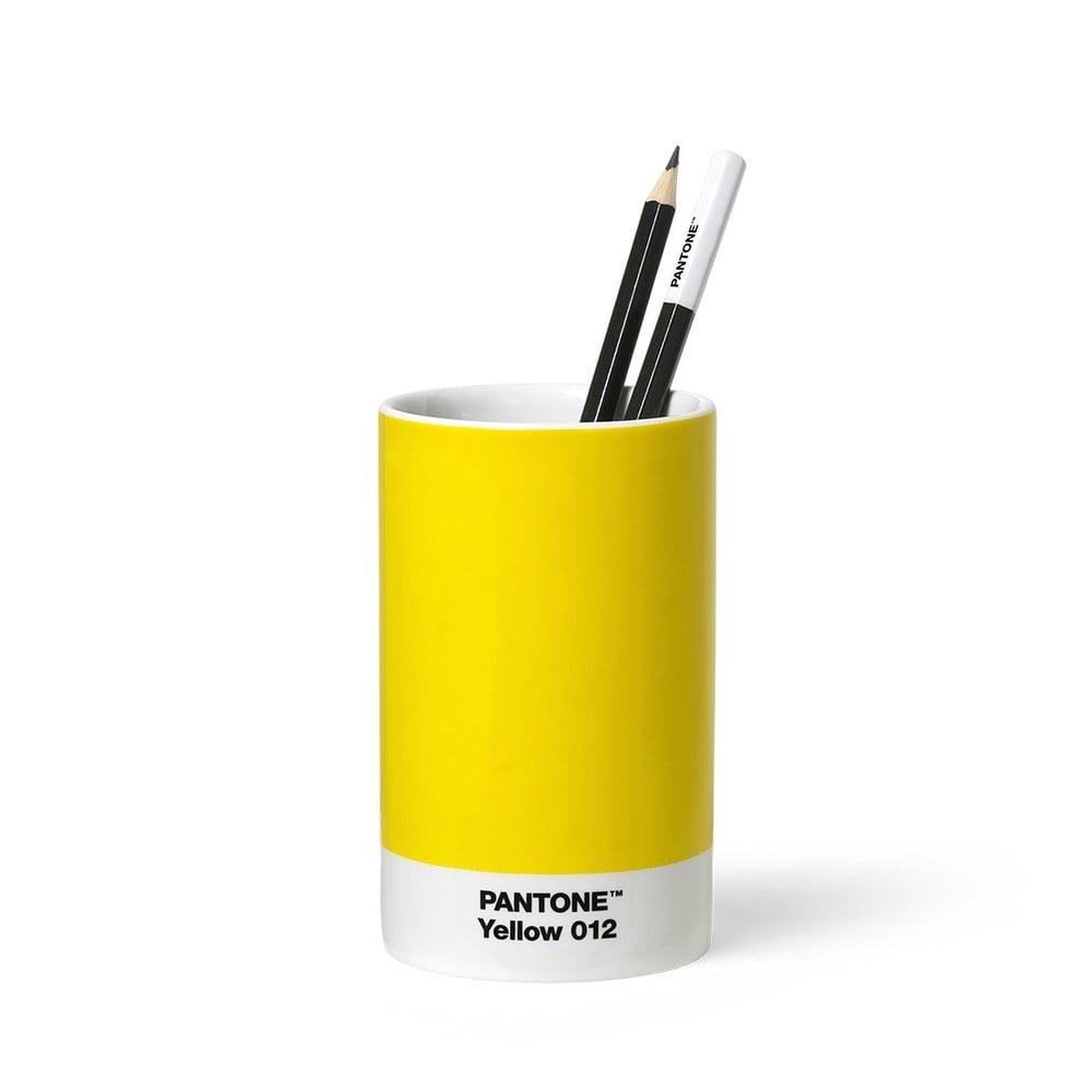 Žltý keramický stojan na ceruzky Pantone