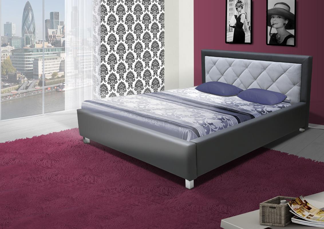 LUBICA VI manželská posteľ 160 x 200 cm, M195-C2314