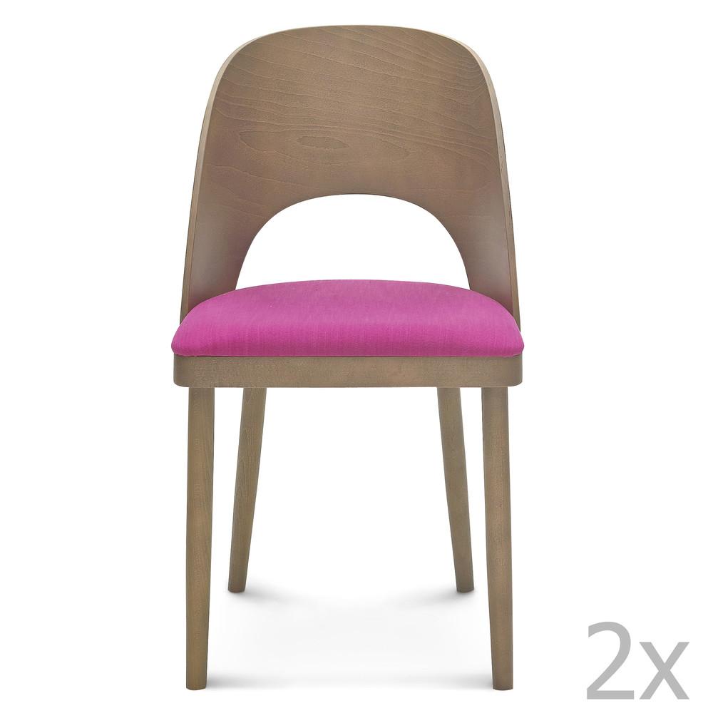 Sada 2 drevených stoličiek Fameg Lecia
