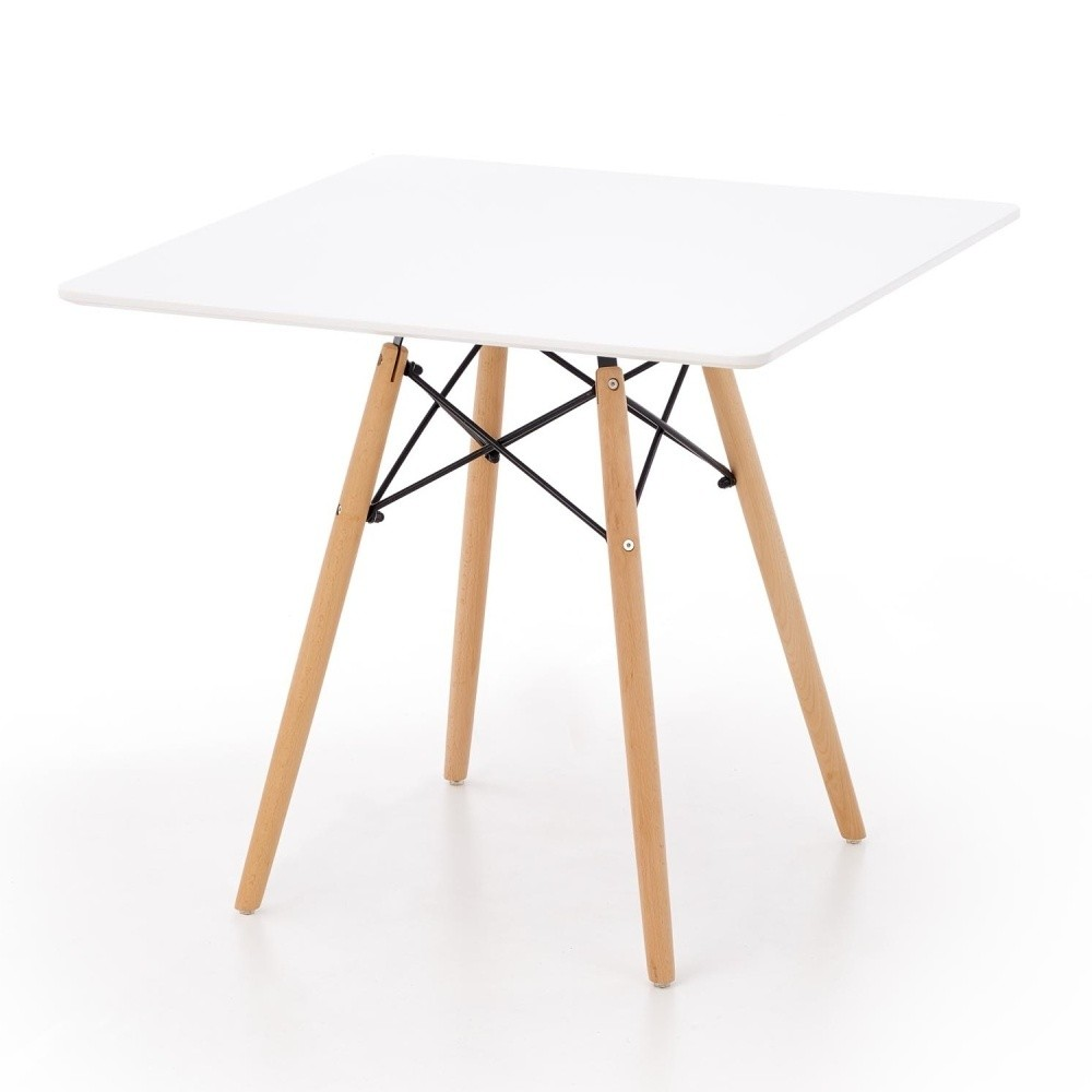 Jedálenský stôl Halmar Prometheus, 80 x 80 cm