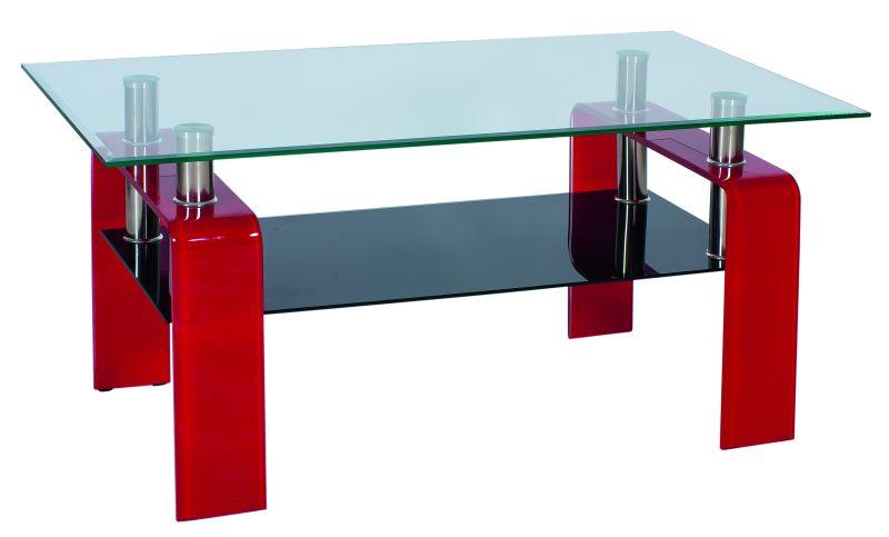 Konferenčný stolík Stella červený