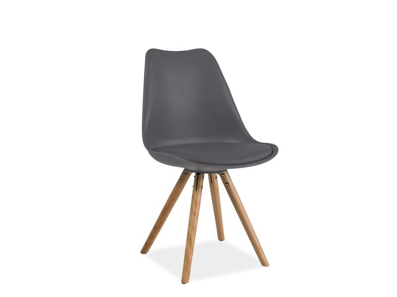 ERIK jedálenská stolička, buk/šedá