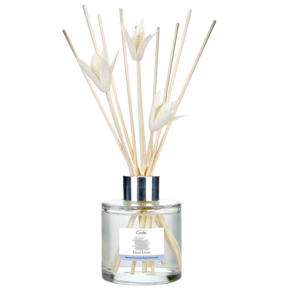 Aromatický difuzér Copenhagen Candles Fresh Linen, 100 ml