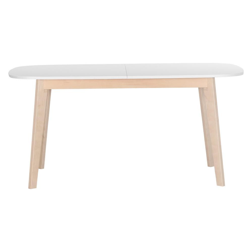 Drevený rozkladací jedálenský stôl z jaseňového dreva Artemob Naiss