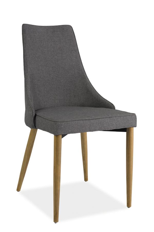 SANDY jedálenská stolička, šedá