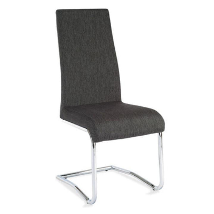 Jedálenská stolička Amina (tmavosivá)