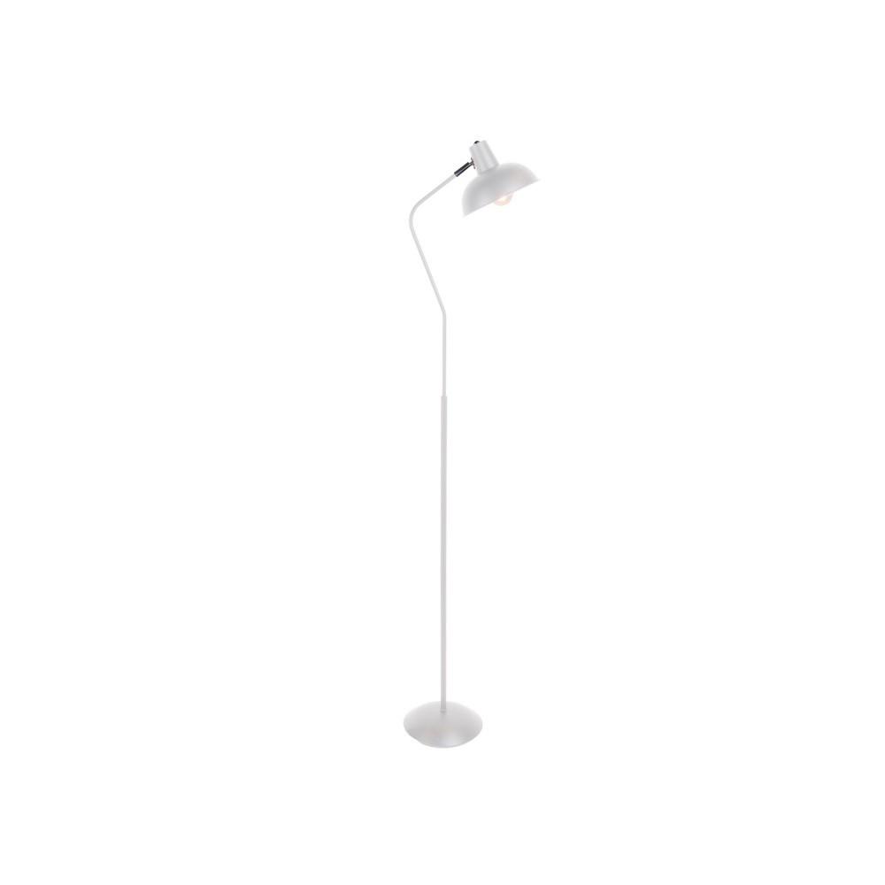 Biela stojacia lampa Leitmotiv Hood