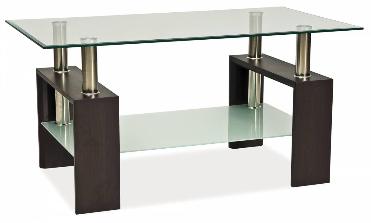 Konferenčný stolík Lisa Basic II (wenge)