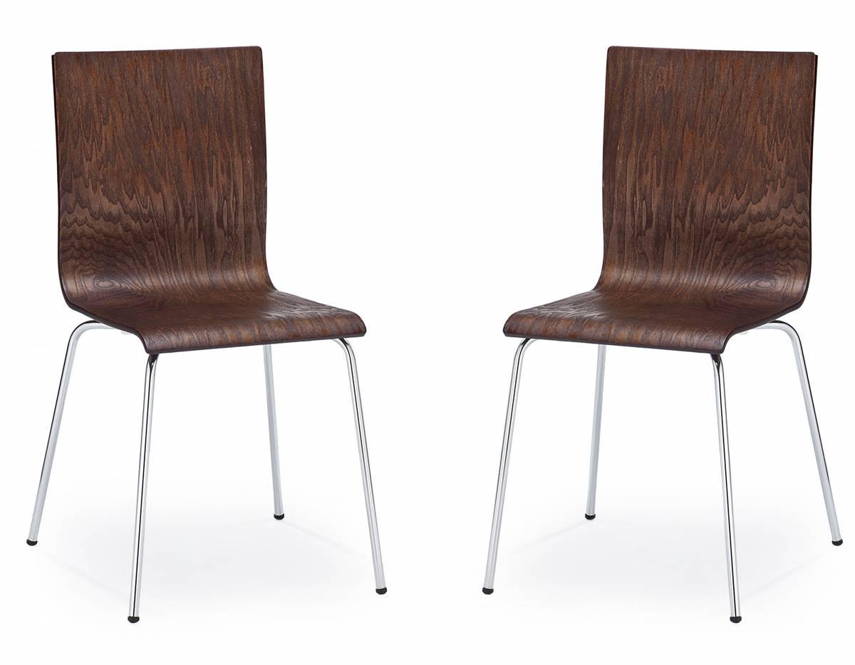 Set 2ks. jedálenských stoličiek K 167 Wenge *výpredaj