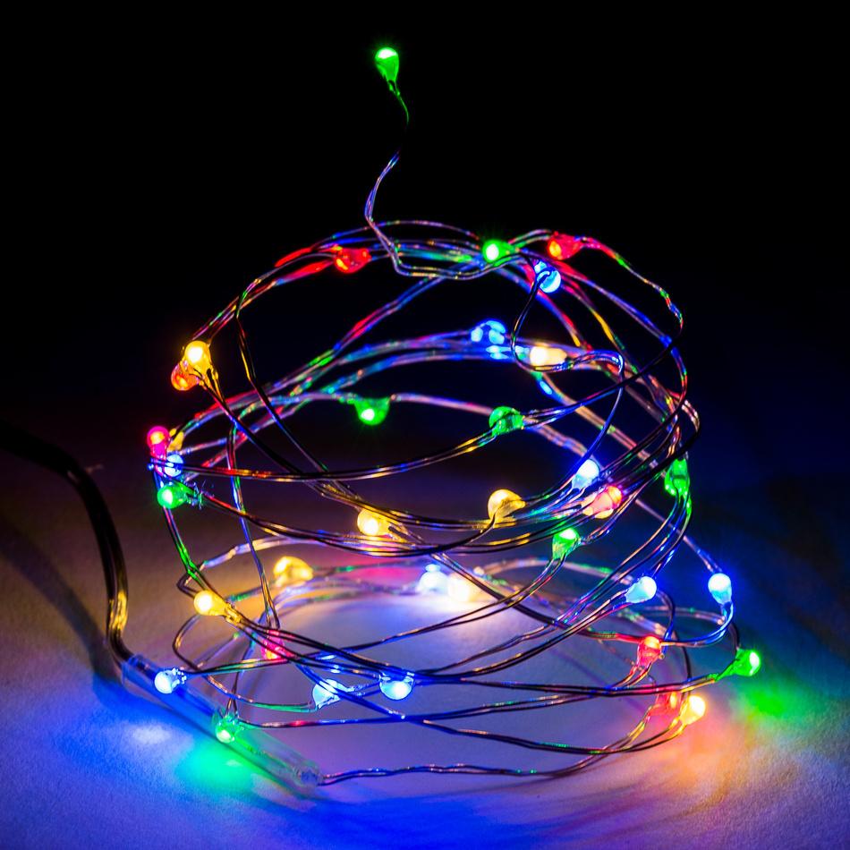 Koopman Svetelný drôt Clarion 100 LED, farebná