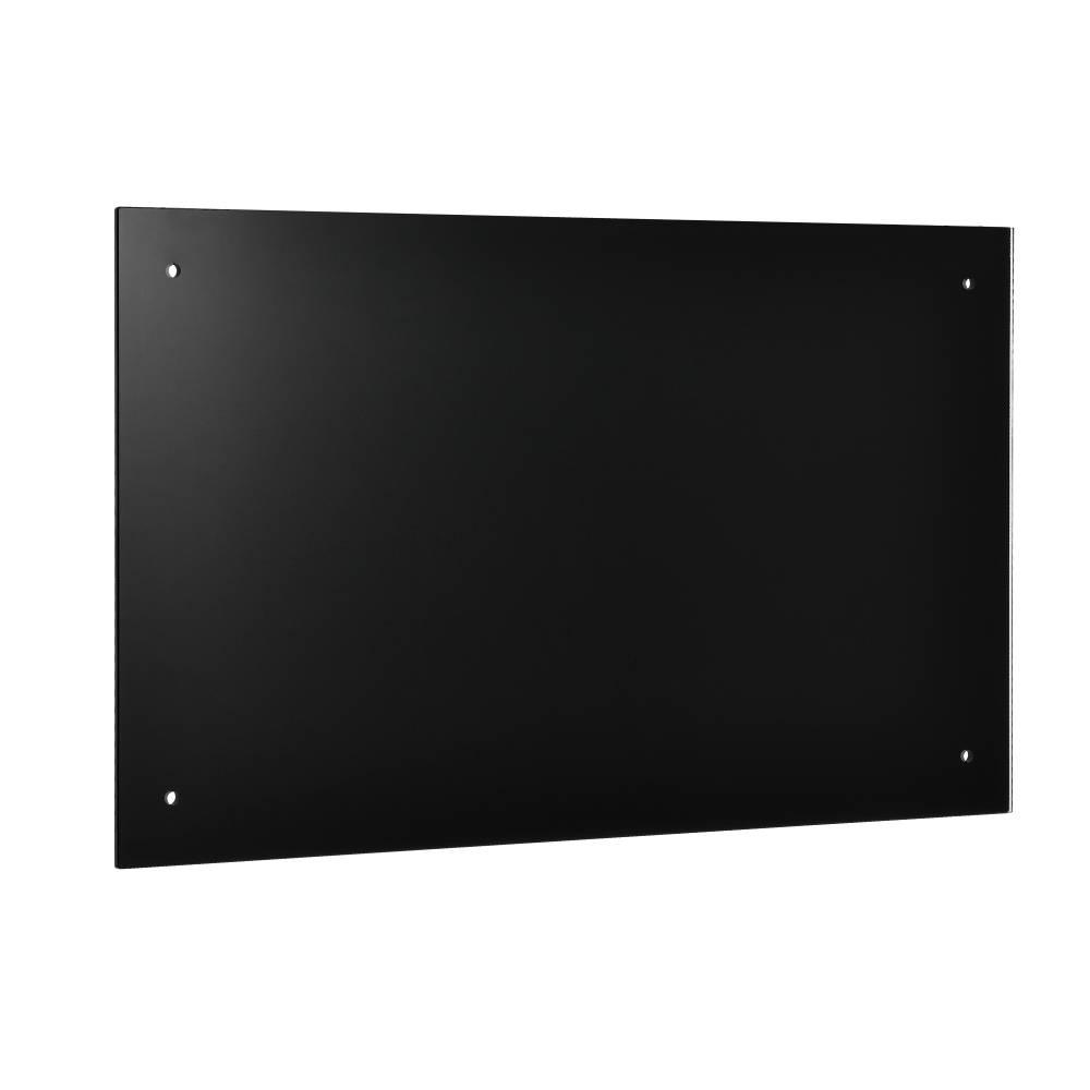 [neu.haus]® Kuchynský zadný panel / Splaschback - 90 x 50 cm - čierny