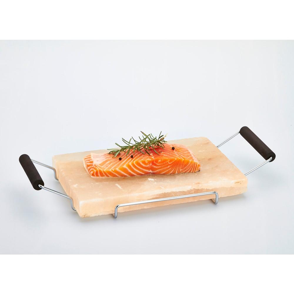 Servírovací podnos zo soľnej dosky Salt Plate, 22 x 45 cm