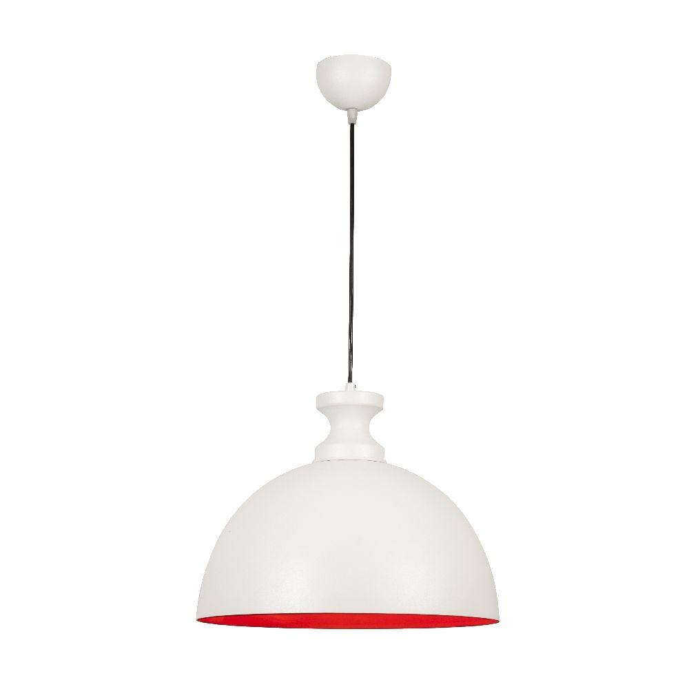 Biele stropné svietidlo Simple