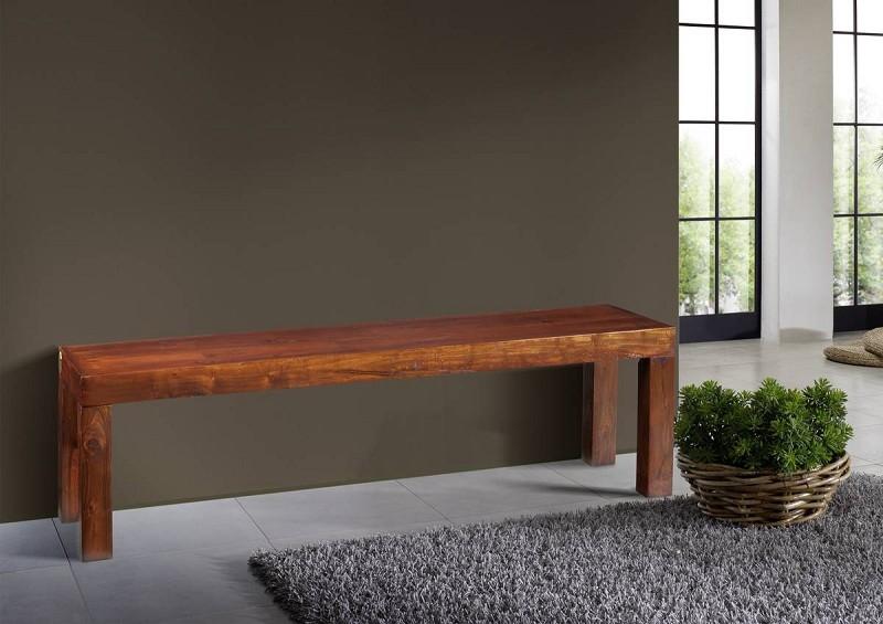 Bighome - CAMBRIDGE  Koloniálna lavica 180x42 masívne akáciové drevo