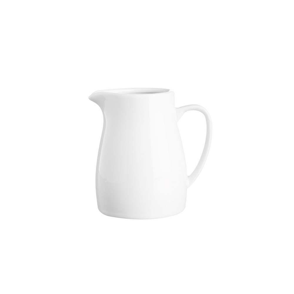 Biela nádoba na mlieko z porcelánu Price&Kensington, 180 ml