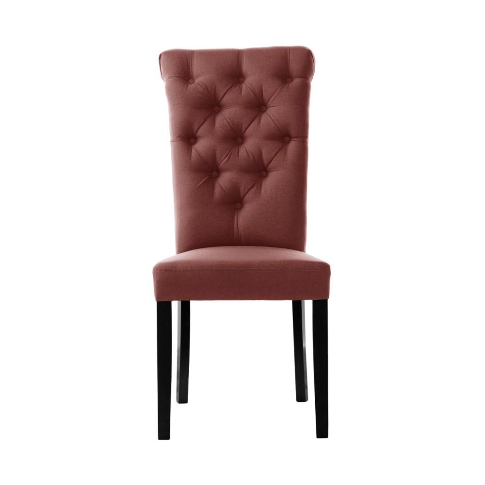 Tehlovočervená stolička L'Officiel Taylor