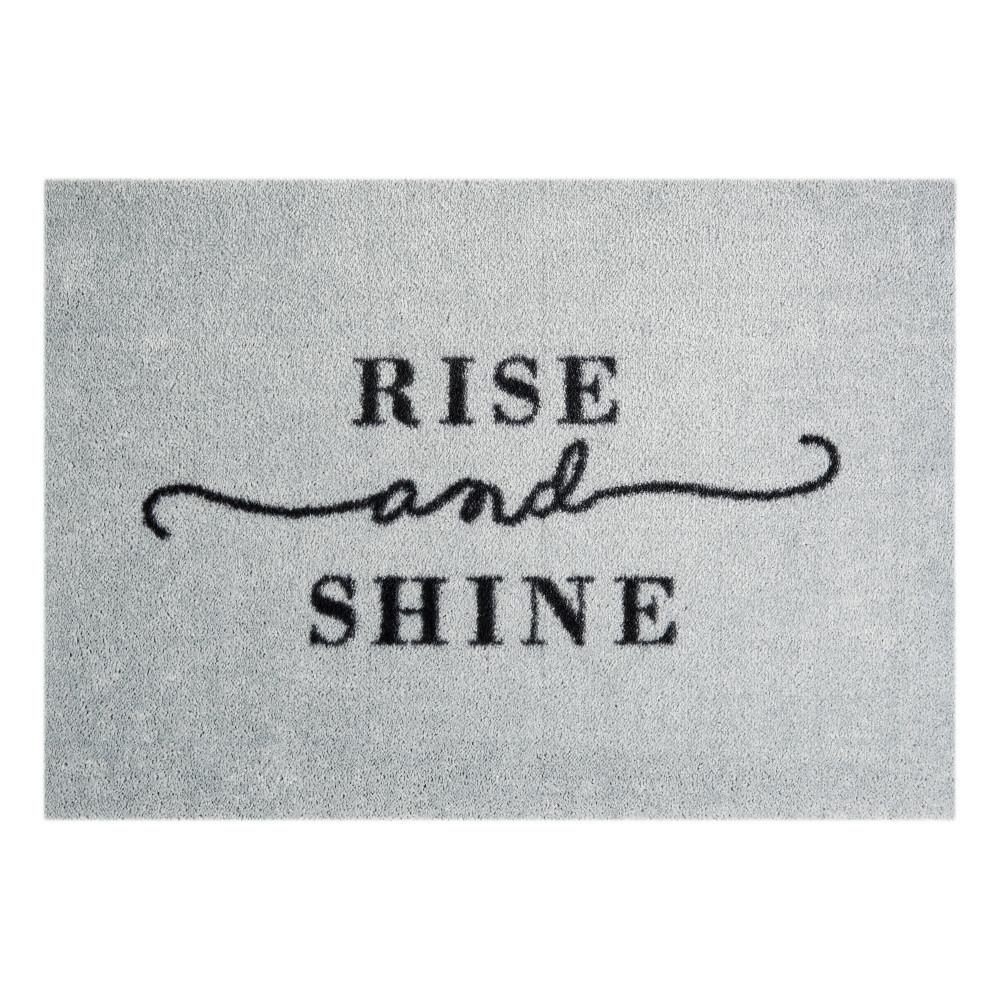 Sivá rohožka Mint Rugs  StateMat Rise And Shine, 50x75cm