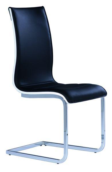 Jedálenská stolička H-133 čierna