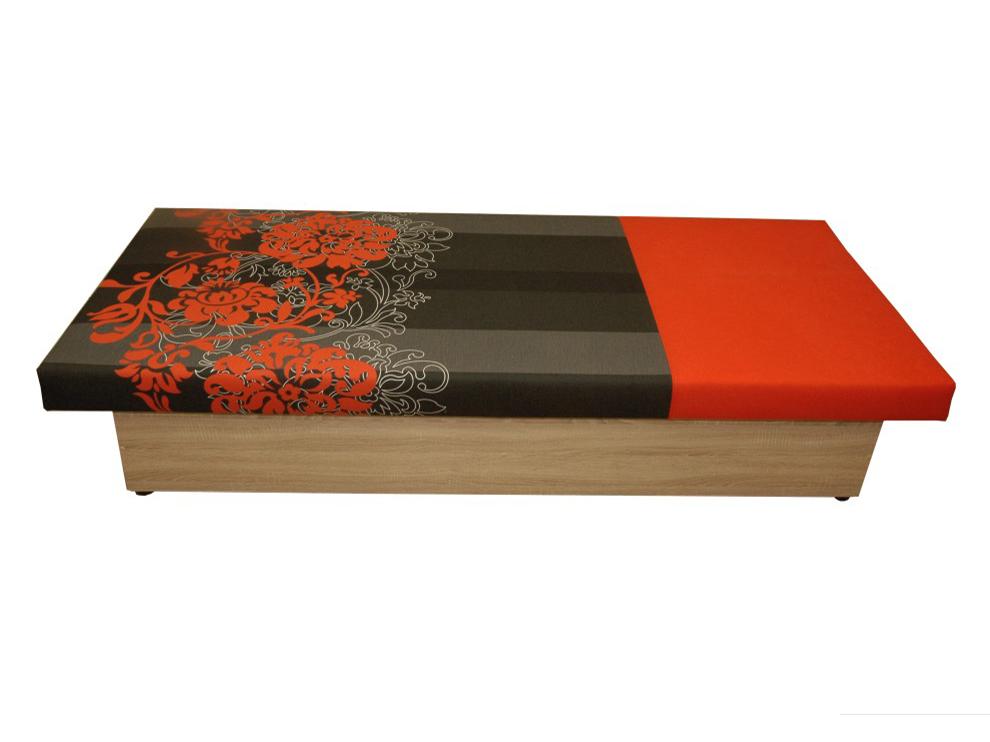 Jednolôžková posteľ (váľanda) 80 cm Aga (s matracom)
