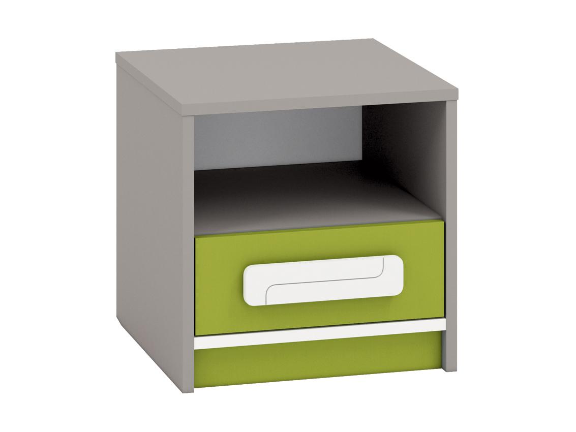 Nočný stolík IQ 13 (zelená)