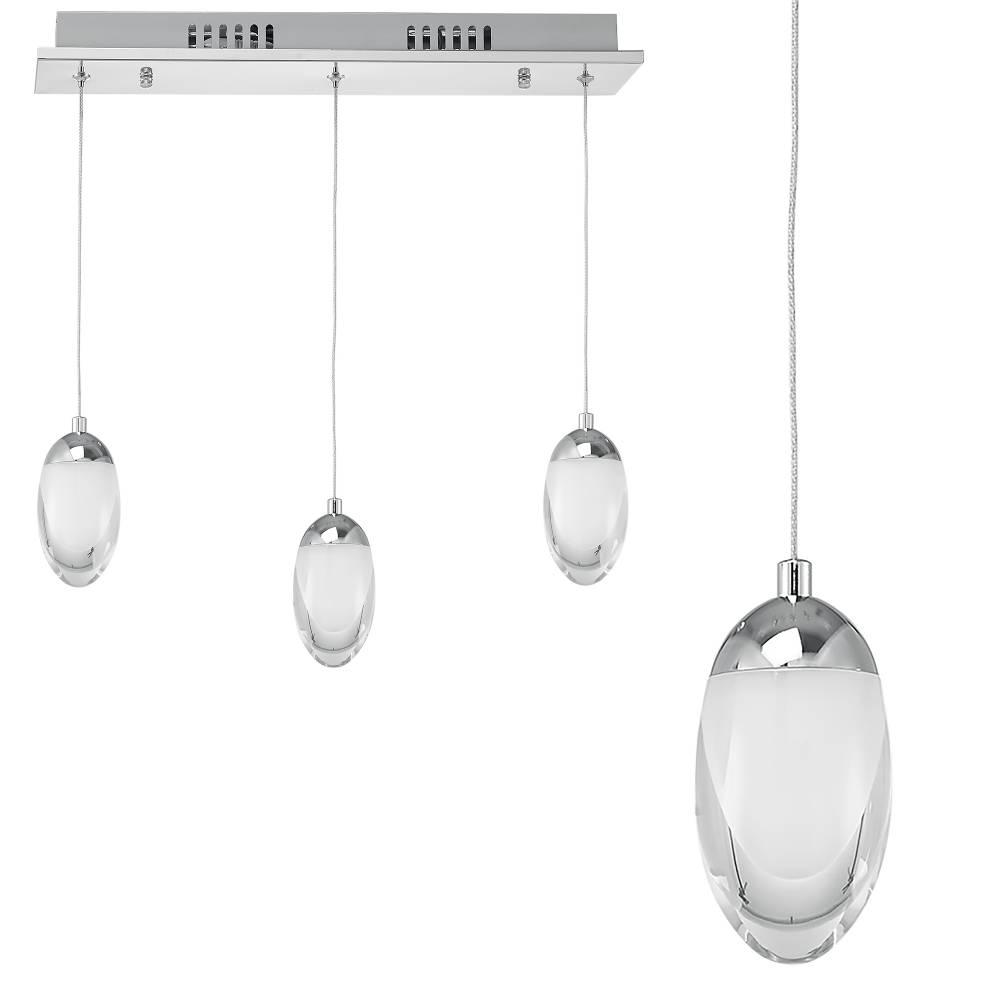 [lux.pro]® Elegantná závesná lampa s 3 LED žiarovkami