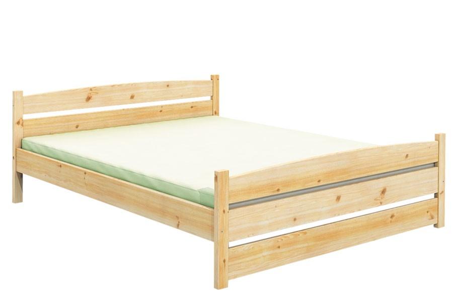 Bradop Manželská posteľ 180 x 200, masív smrek B487