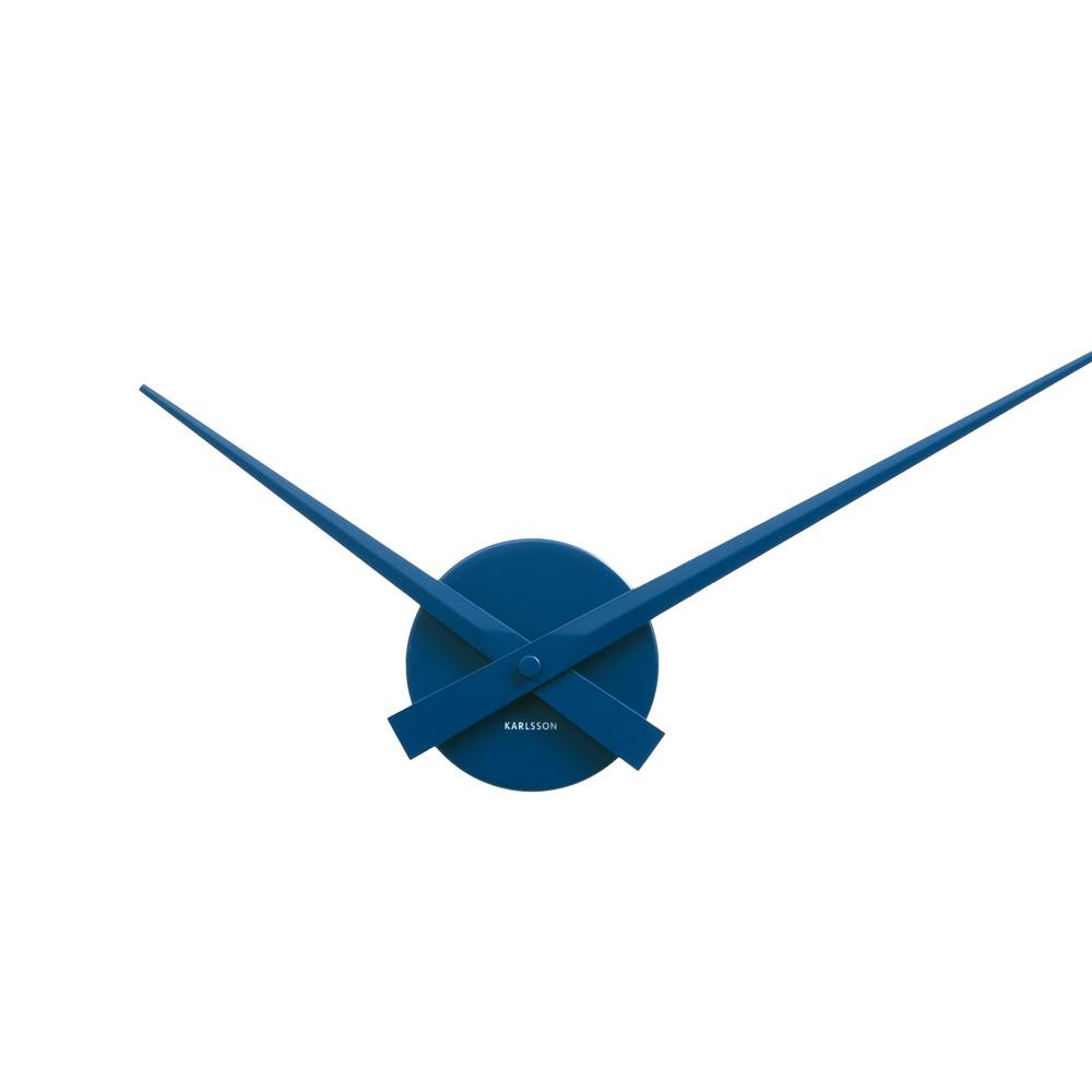 Modré nástenné hodiny ETH Time Mini