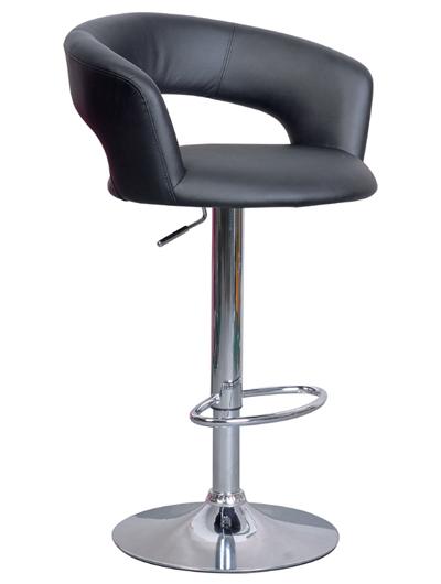 CB-328 barová stolička, čierna