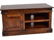 Furniture nábytok  Masívny TV stolík z Palisanderu  Faráborz  104x55x55 cm