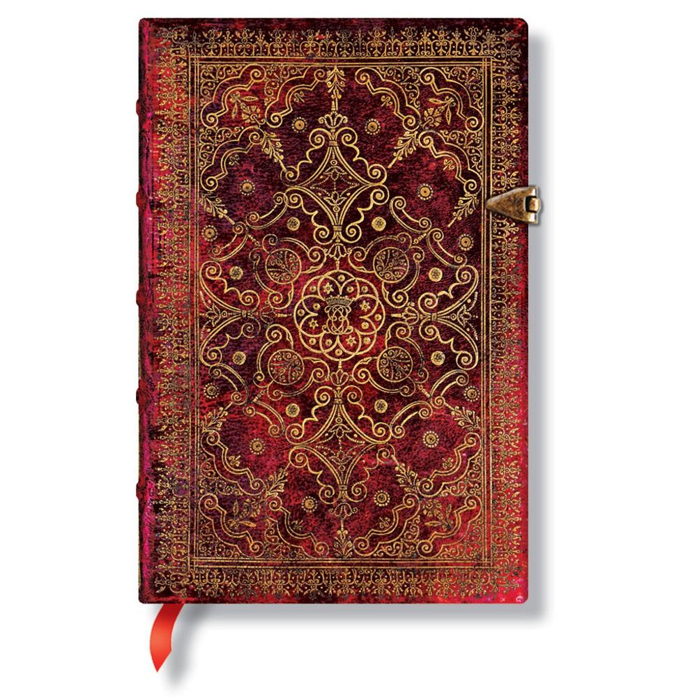 Zápisník s tvrdou väzbou  Paperblanks Carmine, 9,5 x 14 cm