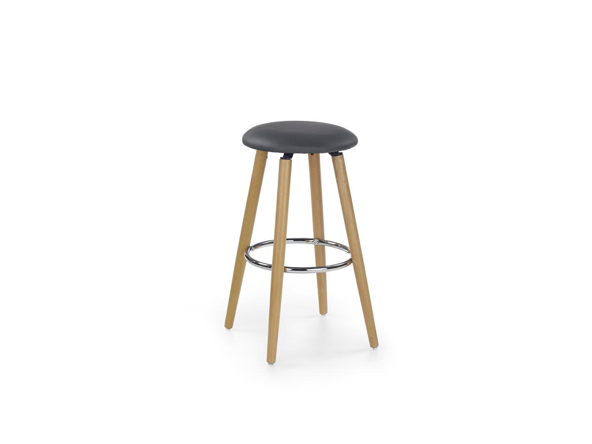 Barová stolička H-76 (sivá)