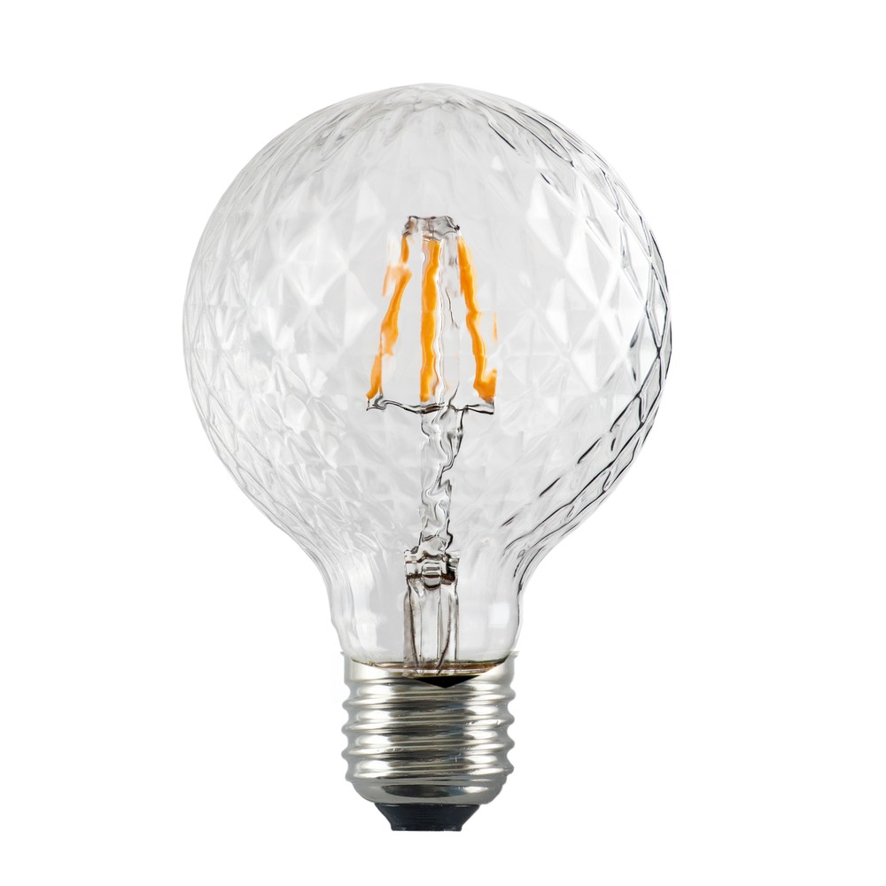 LED žiarovka Bulb Attack GLOBE Clear Crystal Linear, 5,5 W