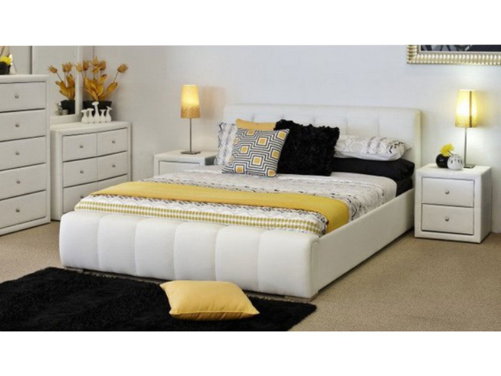 Manželská posteľ 160 cm Fantasy (s roštom)