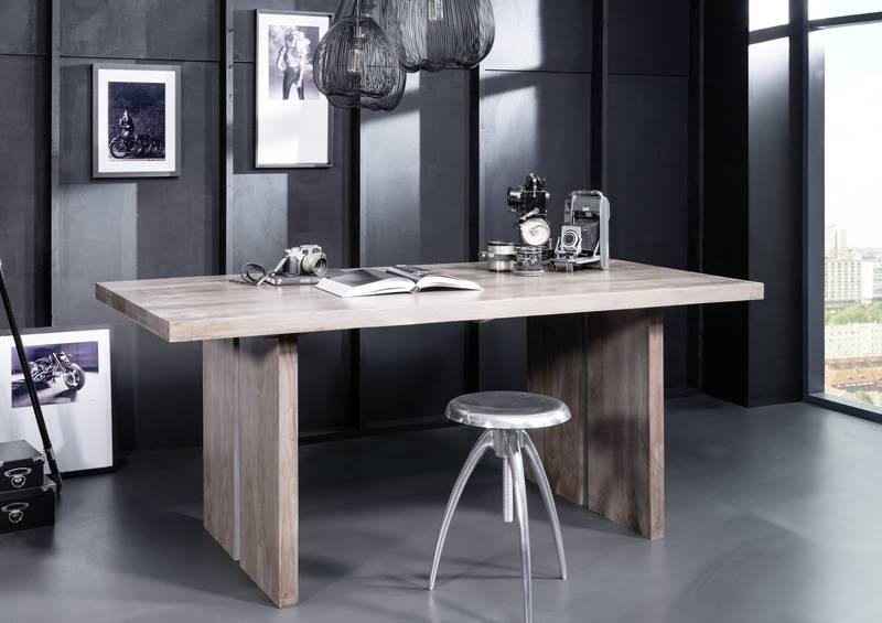 Bighome - ROUND Jedálenský stôl 180x90cm indický palisander