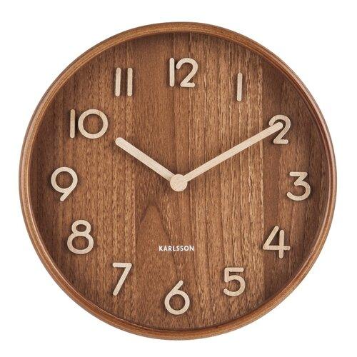Karlsson 5808DW Dizajnové nástenné hodiny pr. 22 cm