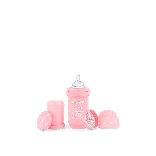 Twistshake Dojčenská fľaša Anti-Colic 180 ml, ružová